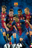 FC Barcelona-Players 2012-2013 Print