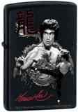 Bruce Lee The Dragon - Black Matte Zippo Lighter Lighter