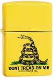 Don't Tread On Me - Lemon Zippo Lighter Lighter
