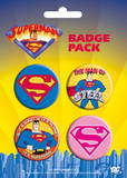 Superman -Logos Badge