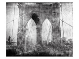 Brooklyn Bridge in Verichrome Lámina fotográfica por Evan Morris Cohen