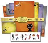 Gary Baseman - Black Cat Stationery Stationary