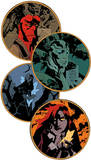 Hellboy Art Coaster Set Coaster