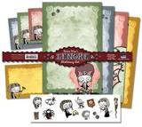 Roman Dirge's Lenore Stationery Stationary
