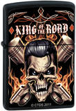 CT King Of The Road - Black Matte Zippo Lighter Lighter