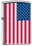 US Flag Zippo Lighter Lighter