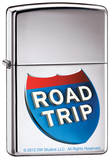 Road Trip - High Polish Chrome Zippo Lighter Lighter