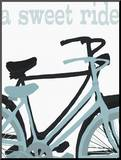 A Sweet Ride Mounted Print by Lisa Weedn