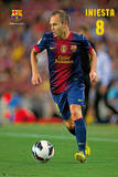 FC Barcelona-Iniesta Poster
