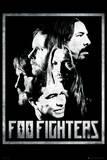 Foo Fighters-Group Kunstdruck