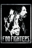Foo Fighters-Group Print