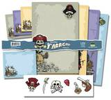 Roman Dirge 2 Pirate Stationery Stationary