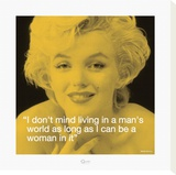 Marilyn: Man's World Stretched Canvas Print