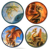 B Eggleton Dragons Coaster Set Coaster