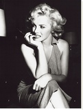 Marilyn Monroe, Hollywood, c.1952 Stretched Canvas Print