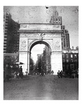 Washington Arch in Plenachrome Photographic Print by Evan Morris Cohen