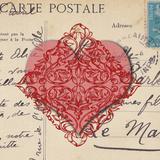 Le Cœur d'Amour I Poster by Sabine Berg