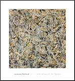 No. 4, 1949 Mounted Print by Jackson Pollock