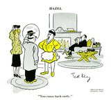 Hazel Cartoon Art by Ted Key