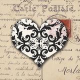 Le Cœur d'Amour IV Prints by Sabine Berg