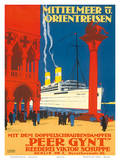 Peer Gynt c.1925 Poster af Rudolf Rüffer