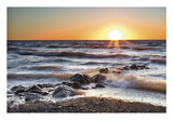 Sunset at Blue Point Prints by Daniel J. Bellyk