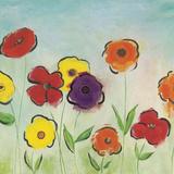 Flowering Garden II Poster by Sarah Horsfall