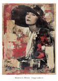 Vintage Goddess II Affiches par Marta Wiley