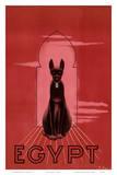 Egypt Black Cat c.1947 Posters av M. Azmy