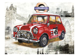 British Car Prints by Bresso Sola
