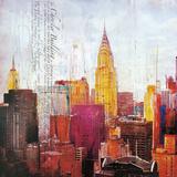 The City That Never Sleeps II Plakater af Markus Haub