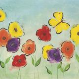 Flowering Garden I Prints by Sarah Horsfall