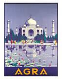 Agra Taj Mahal c.1937 Impression giclée par Gobinda Mandal