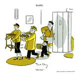 Hazel Cartoon Poster par Ted Key