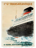 Compagnie Transatlantique Prints by Albert Brenet