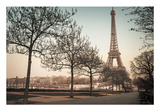 Remembering Paris Print by Assaf Frank