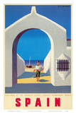 Spain Tourism c.1950s Print by Guy Georget