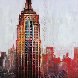 The City That Never Sleeps I Posters by Markus Haub