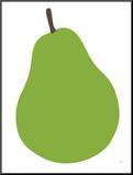 Pear Mounted Print by  Avalisa