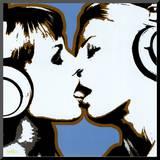 Kyssen Monterat tryck av  Steez