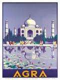 Agra Taj Mahal c.1937 Affiches par Gobinda Mandal