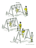 Hazel Cartoon Art by Ted Key