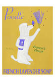 Poodle French Lavender Soap Limited Edition by Ken Bailey