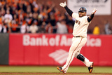 San Francisco, CA - Oct. 22: San Francisco Giants v St. Louis Cardinals - Pablo Sandoval Photographic Print by Ezra Shaw
