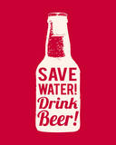 Save Water Drink Beer Posters by  The Vintage Collection