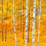 Iridescent Trees IV 高品質プリント : アレックス・ヤドキモフ