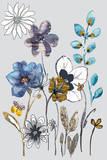 Field Flowers I Art by Sandra Jacobs