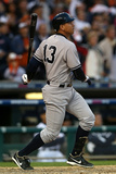 Detroit, MI - Oct. 18: Detroit Tigers v New York Yankees - Alex Rodriguez Photographic Print by Jonathan Daniel
