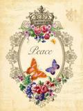 Peace Print by Jackie Von Tobel