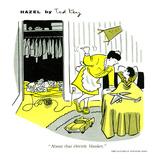 Hazel Cartoon Poster by Ted Key